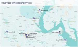 Coldwell Banker Elite Offices Map