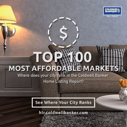 Coldwell Banker Home Listing Report Finds Danville and Reston/Vienna Ranked Most Affordable and Expensive Markets in Virginia