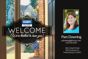welcome pam downing