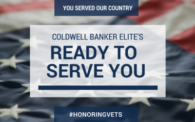 You've Served Our Country, Now Coldwell Banker Elite's Ready to Serve You