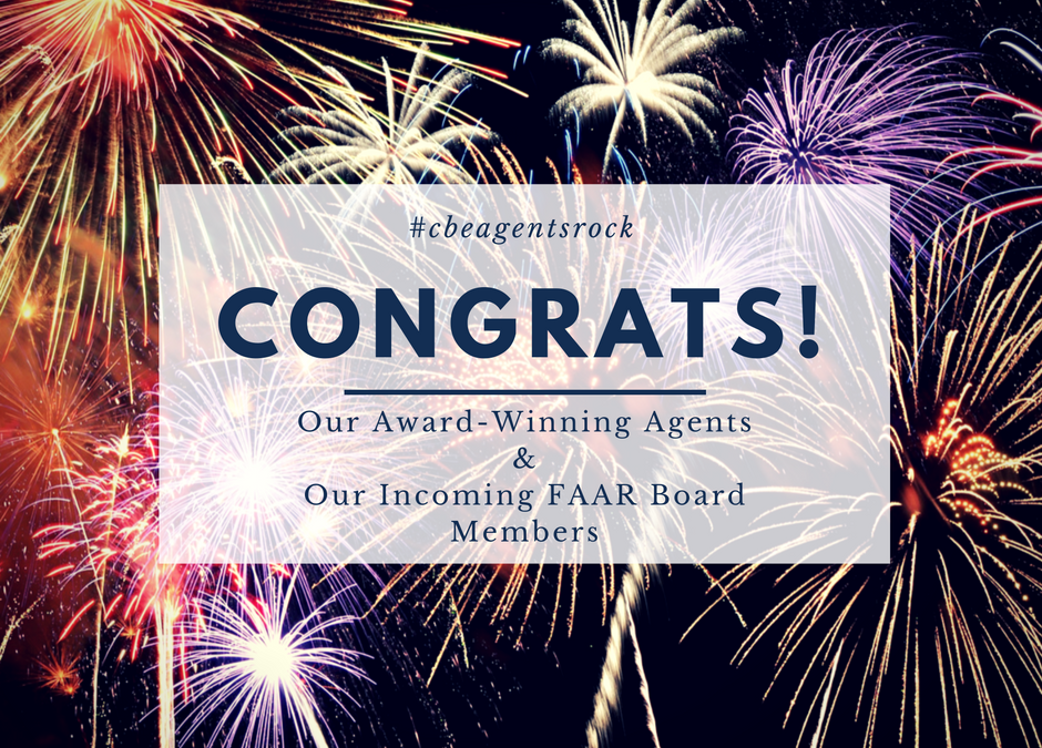 Congratulations to our FAAR Award Winners!