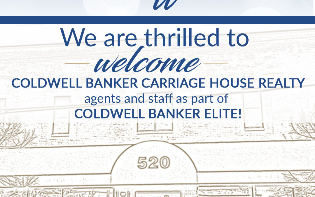 Coldwell Banker Elite Acquires Coldwell Banker Carriage House