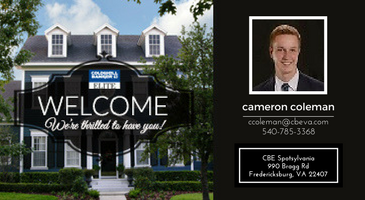 Coldwell Banker Elite Welcomes Cameron Coleman