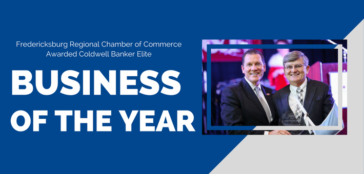 Coldwell Banker Elite Wins Business of the Year!