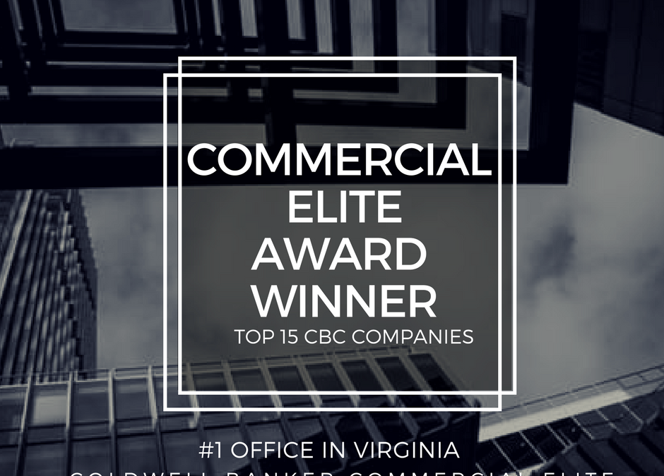 Coldwell Banker Commercial Elite Wins #1 Office in Virginia