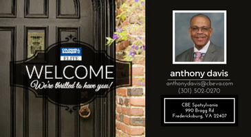 Coldwell Banker Elite Welcomes Anthony Davis