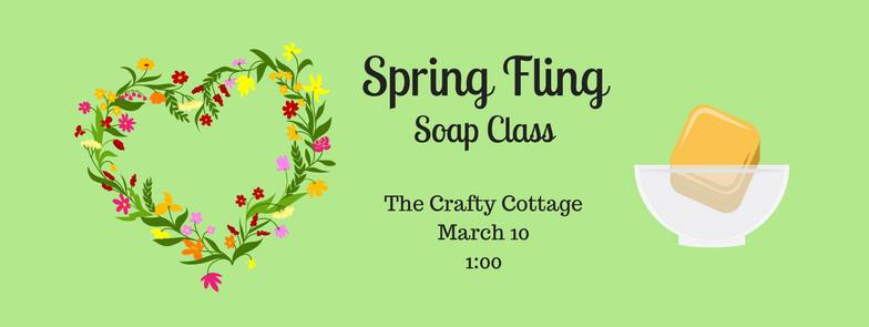 spring fling soap class