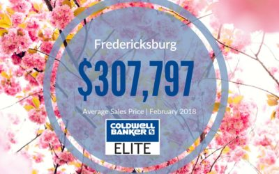 Fredericksburg Area Market Update for March 2018