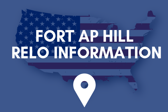 Fort AP Hill Relocation Information button
