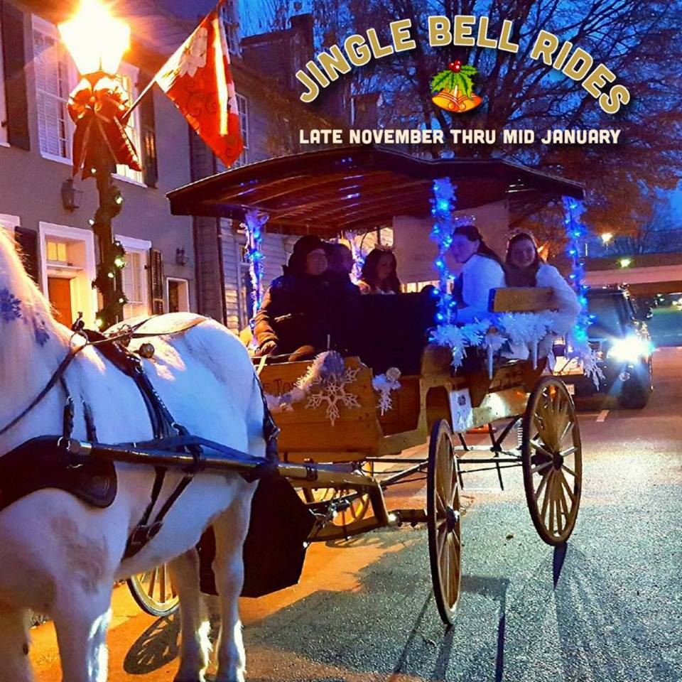 jingle bell carriage rides