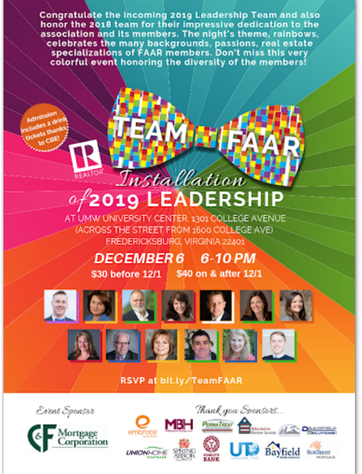 Four CBE Agents Elected to 2019 FAAR Leadership