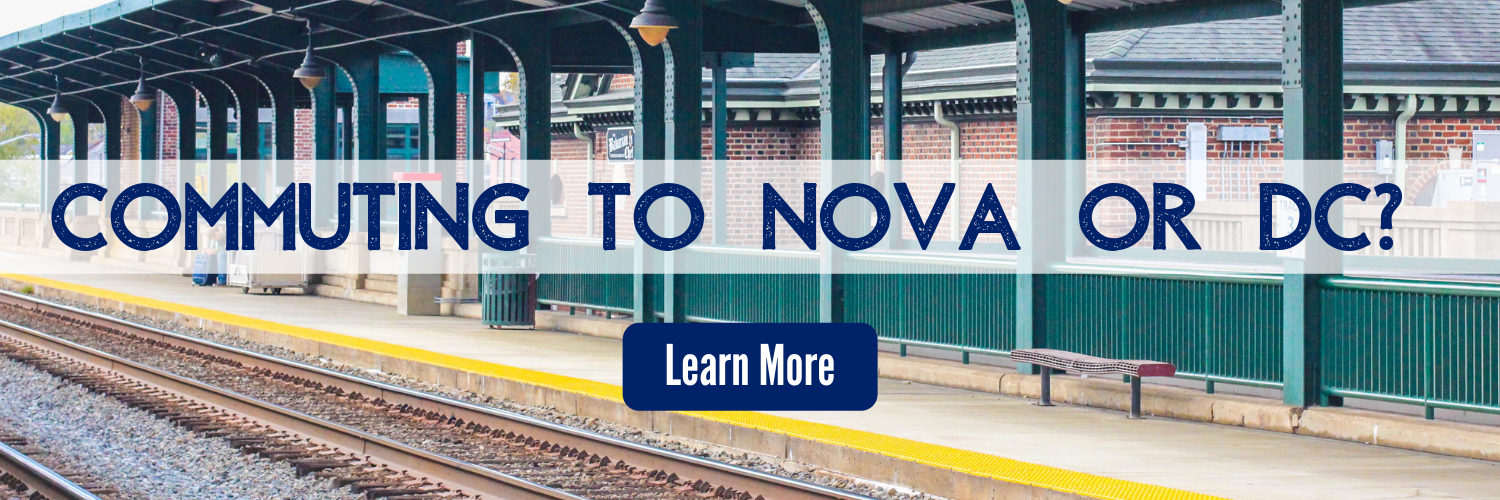 Commuting to NOVA or DC Learn More button
