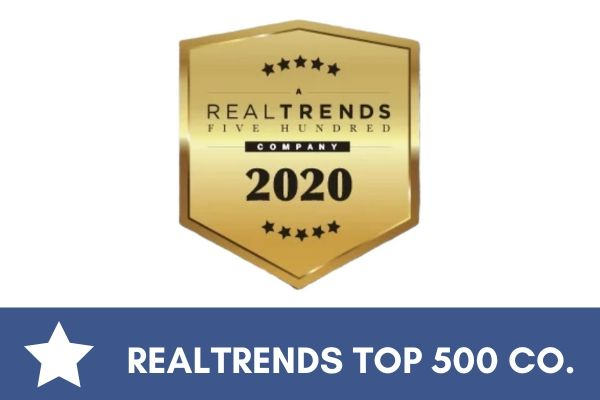Coldwell Banker Elite's RealTrends Top 500 company award