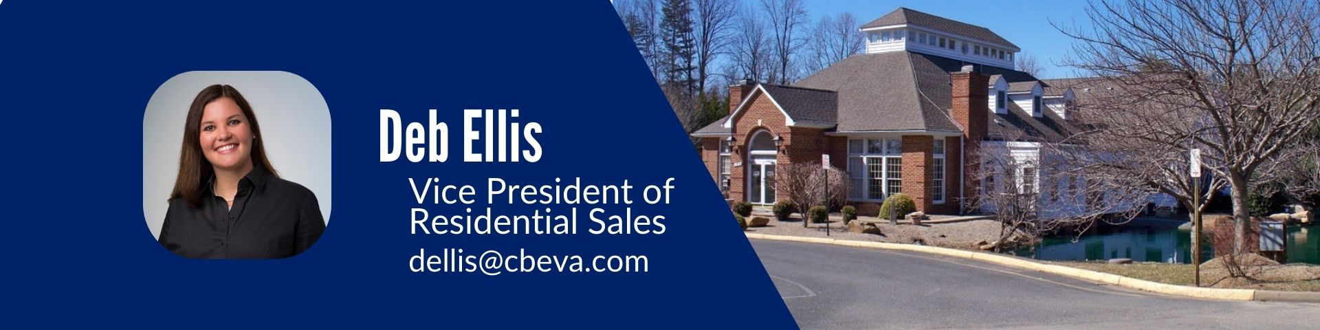 Deb Ellis Vice President of Residential Sales and  Managing Broker of Coldwell Bank Elite's Staffor office.