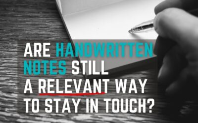 Are handwritten notes still a relevant way to stay in touch?